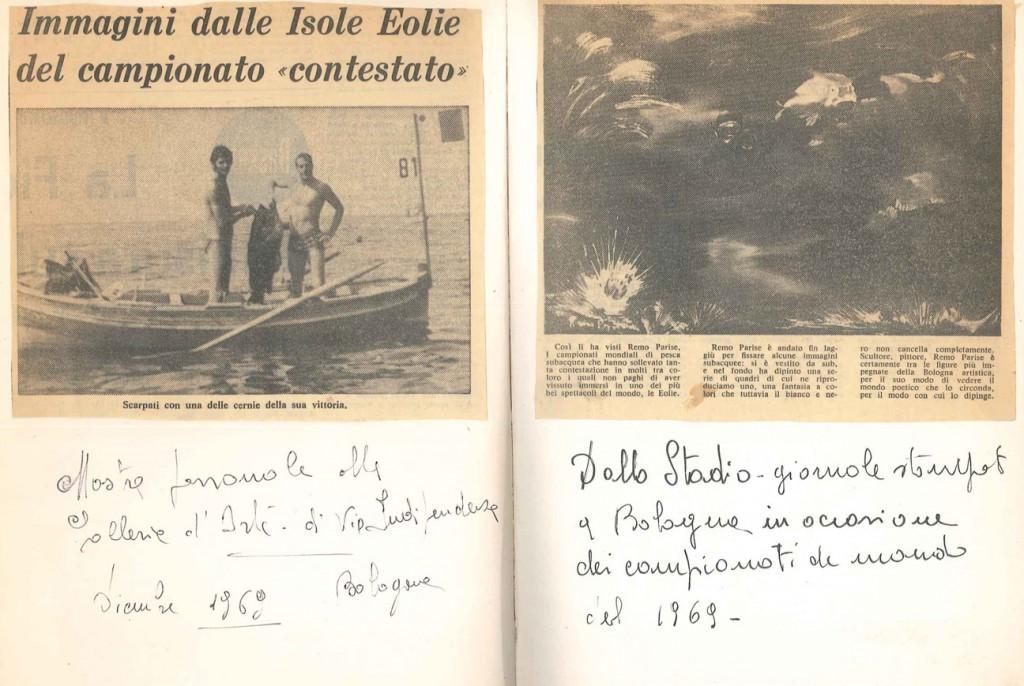 CRITICA stadio per camp mond pesca 1969