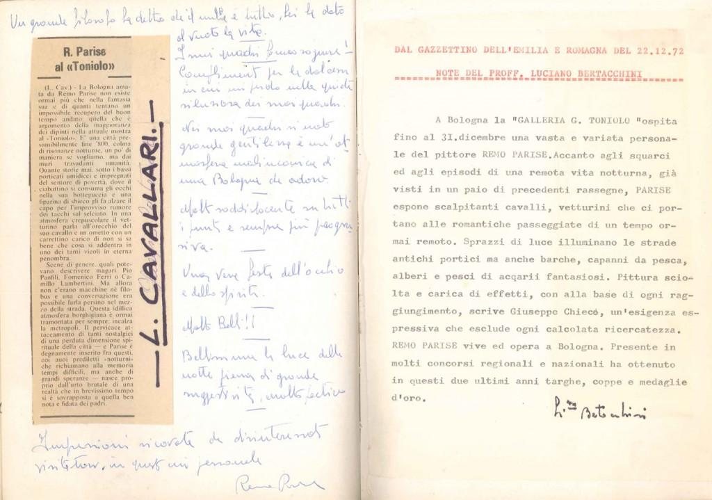critica CAVALLARI+BERTACCHINI